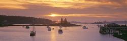 Sunset at Lobster Village, Port Clyde, Maine