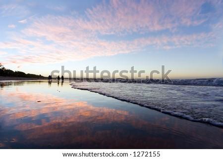 Sunset at Noosa Beach - Australia