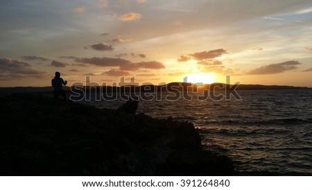 Sunset at Porto Pollo