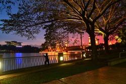 sunset at putrajaya viewing PICC