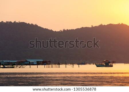 Sunset at Starfish beach, Phu Quoc, Vietnam