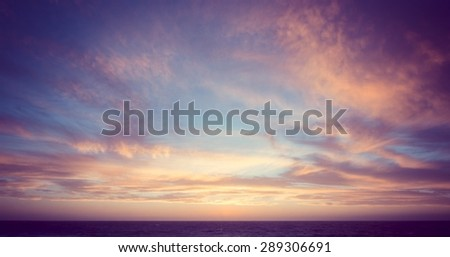 Sunset Australia Pink Sky Clouds Dusk Beach Pretty