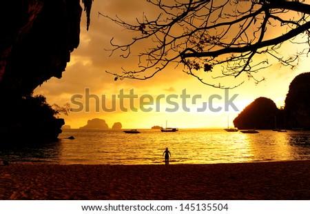 Sunset Beach on the Island