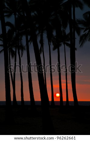 sunset - Big Island (Hawaii)