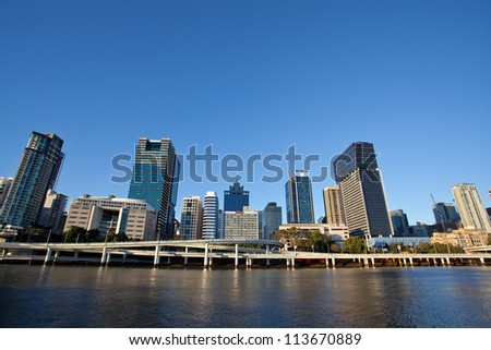 Sunset, Brisbane City