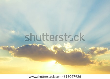 Sunset Burning Down  #616047926