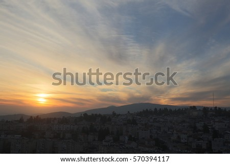 Stock Photo Sunset cloud sunset sky with multicolor clouds Sunset cloud sunset sky with multicolor clouds