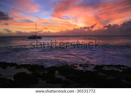 Sunset Cruise - Cupecoy Beach - St. Maarten