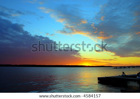 Sunset Dock