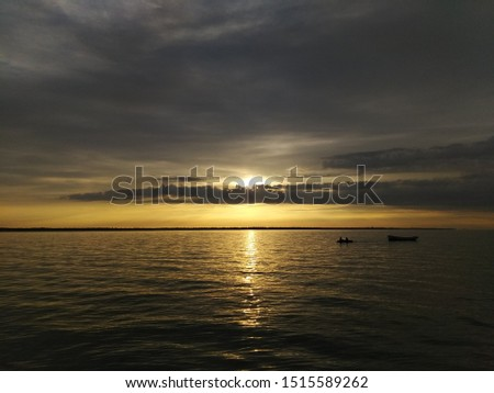 sunset, evening sunset, evening sea #1515589262