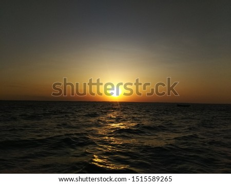 sunset, evening sunset, evening sea #1515589265