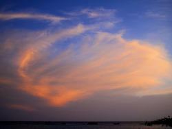 sunset goldenhour warm aruba Caribbean sea ocean