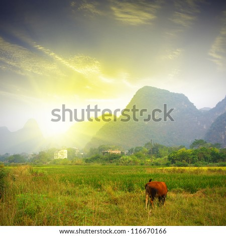 Sunset Hill in Guilin