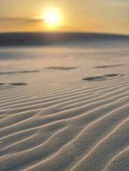 Sunset in a Desert, Aalborg, Denmark