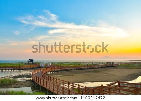 Sunset in Dadaepo