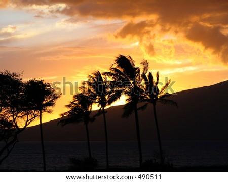 Sunset in Kihei, Maui