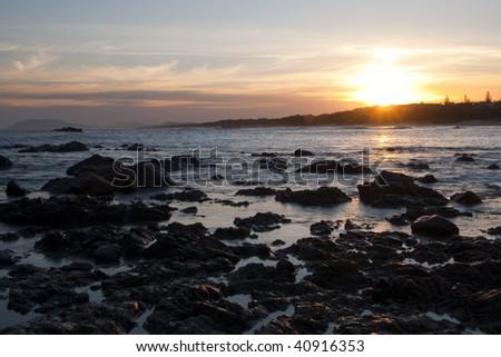 Sunset in Lighthouse Beach, Australia