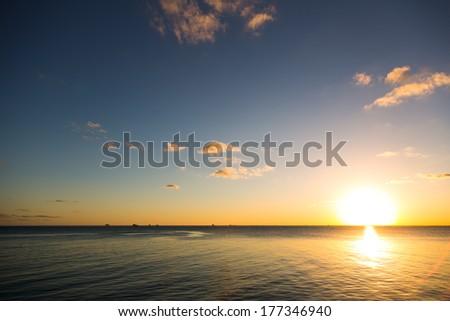 sunset in miami #177346940