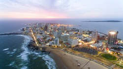 Sunset in Punta Del Este - Uruguay