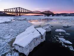 Sunset in Quebec City