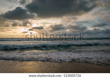 Sunset in Thailand Zdjęcia stock ©