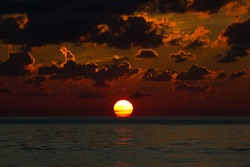 Sunset in the Bahamas