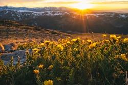Sunset in the James Peak Wilderness, Colorado, USA
