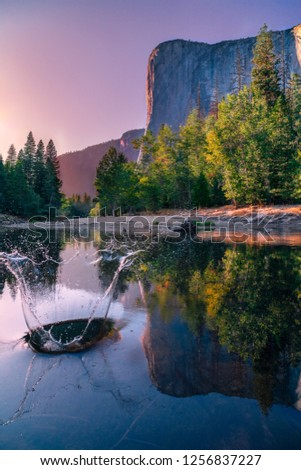 Sunset in Yosemite National Park