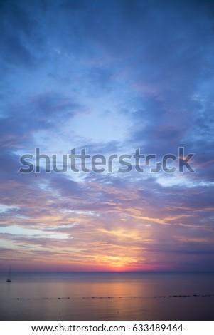 sunset italy vasto