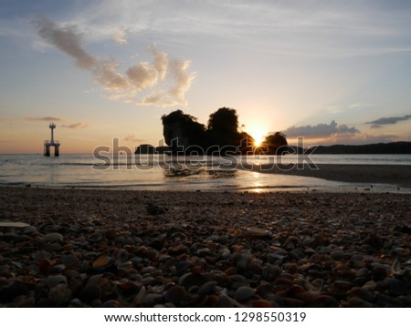 Sunset Krabi Thailand #1298550319