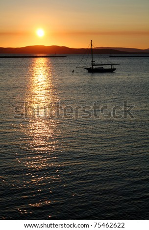 Sunset - Lake Champlain, Vermont