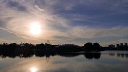 SUNSET LAKE VIEW PUTRAJAYA MALAYSIA