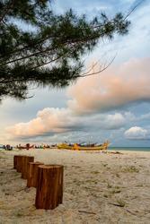Sunset Landscape at Pantai Serdang