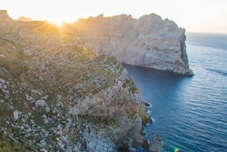 Sunset on Cape Formentor, Mallorca, Spain