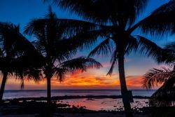 Sunset on North Shore