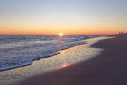 Sunset over Sunset Beach, Cape May, NJ