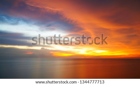 Sunset over the Horizon #1344777713