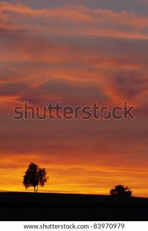 Sunset (Pyrenees,France)