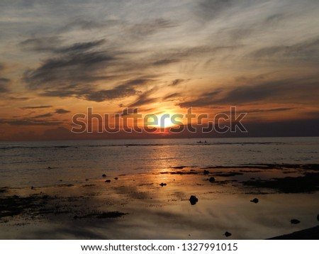 sunset sea scapes #1327991015