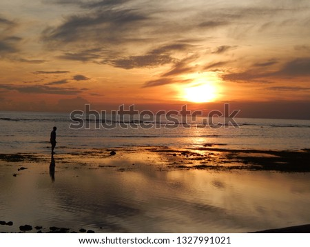 sunset sea scapes #1327991021