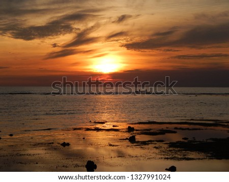 sunset sea scapes #1327991024