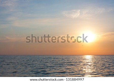 Sunset Seascape
