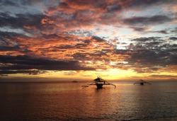 Sunset, Sipalay,  Negros Occidental, Philippines