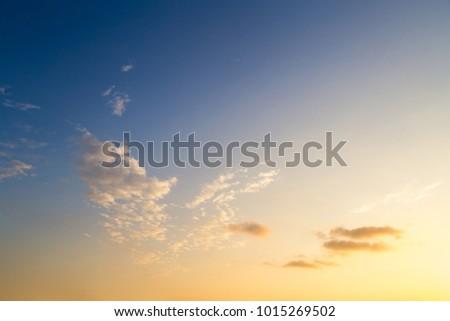 sunset sky background #1015269502