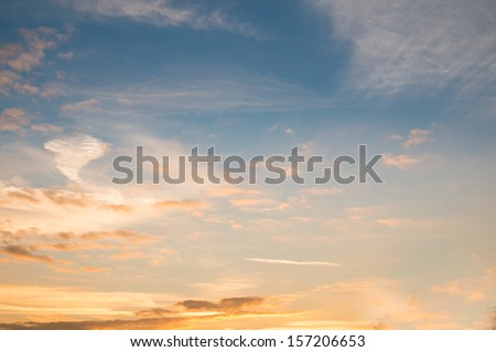 Sunset Sky Background #157206653