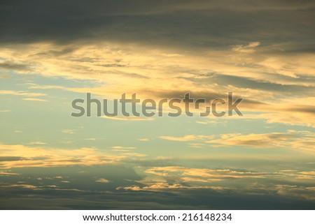 Sunset Sky Background  #216148234