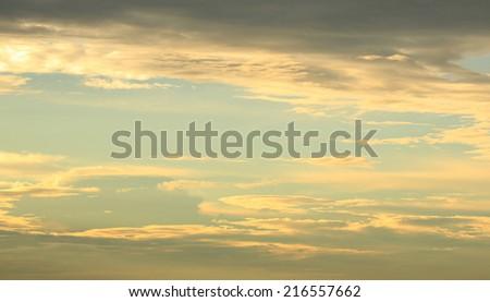 Sunset Sky Background  #216557662