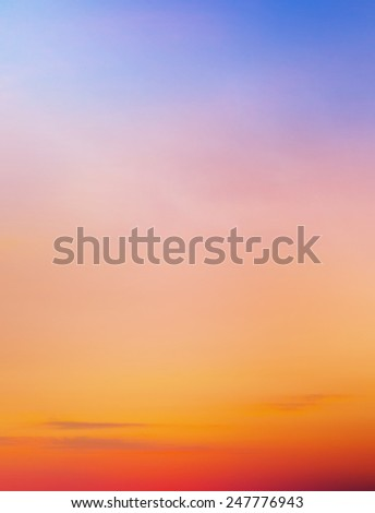 Sunset sky background #247776943
