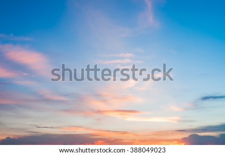 sunset sky background  #388049023