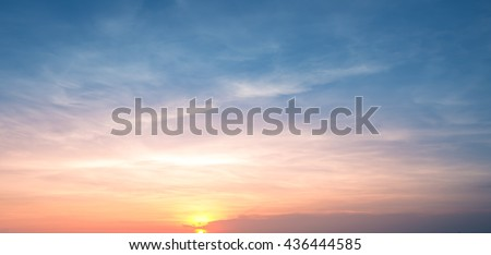 sunset sky background #436444585